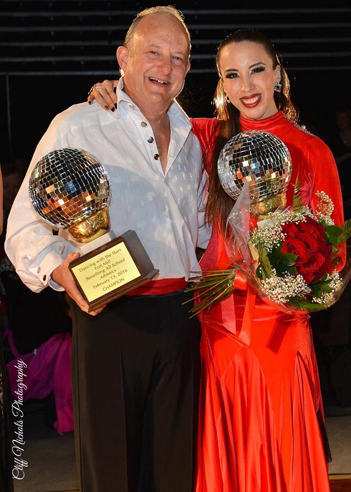 Dan Mace and Gabriela Sevillano At Dancing With The Stars